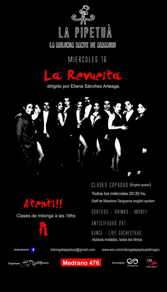 Las barridas del amor en La Pipetua, la nueva milonga de Buenos Aires