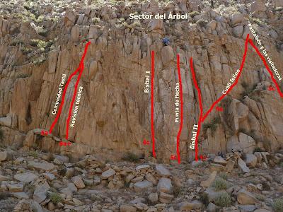 Tastil, Salta un lugar idóneo para iniciarse en la escalada
