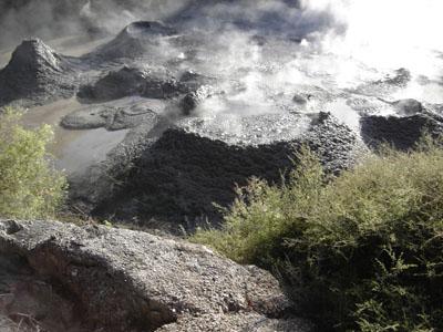Explotan las fuentes termales de Nueva Zelanda