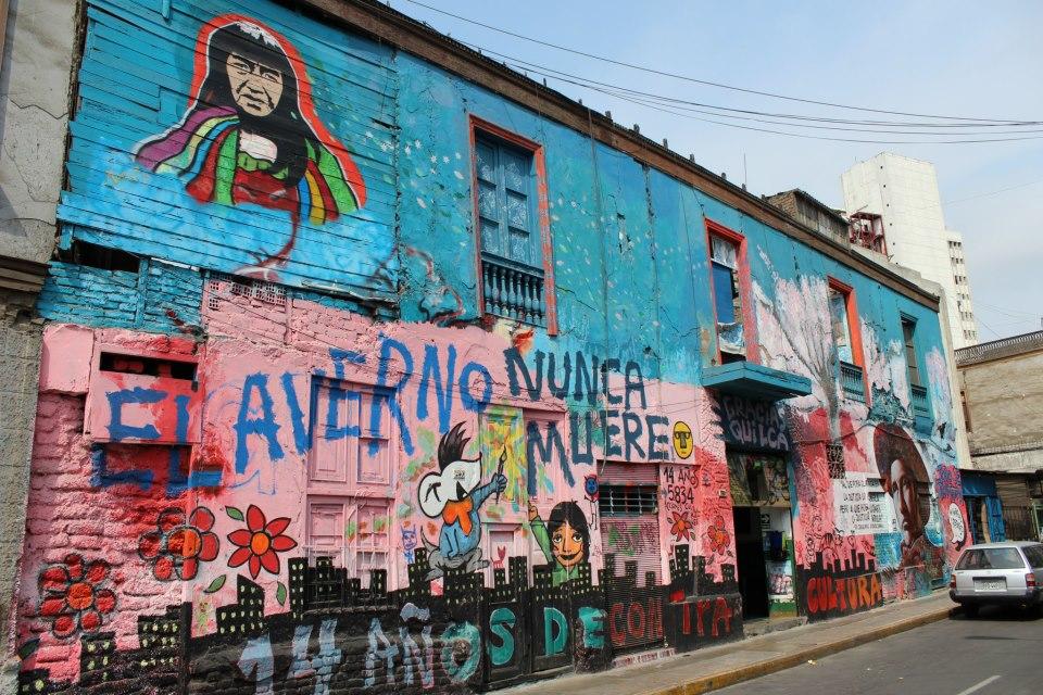 Una ventana abierta a los colores de Lima