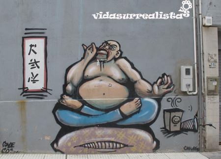 Grafitis en Montevideo 2
