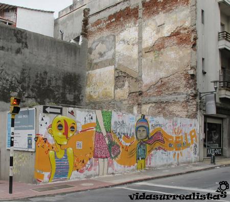 Grafitis en Montevideo 5