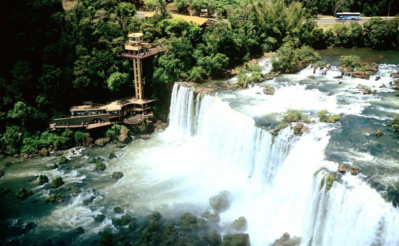 Deportes extremos en las Cataratas del Iguazú