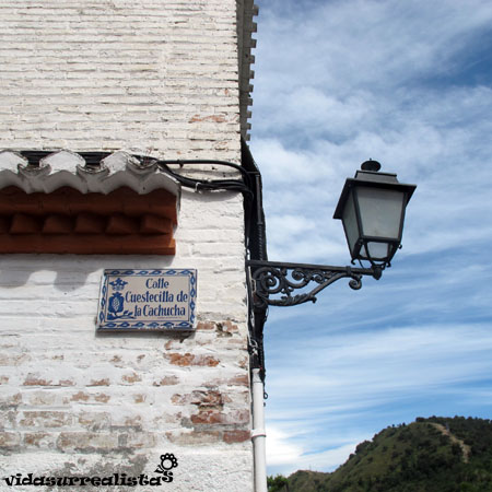 Calle de la cachucha, Granada