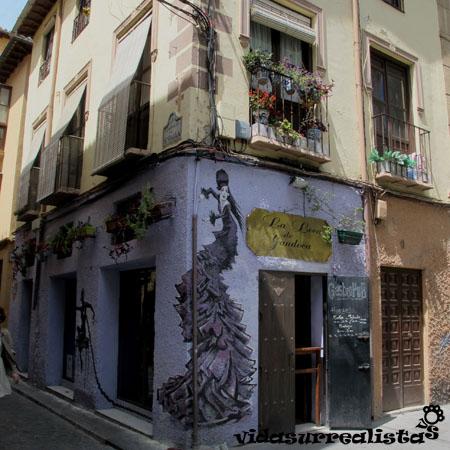 Grafitis en Granada y Córdoba