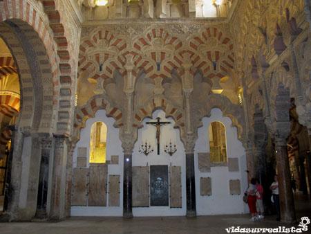 La mezquita de Cordoba, España