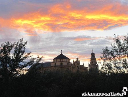 Vista desde el Monumento Natural Sotos de la Albolafia, Cordoba, España 2