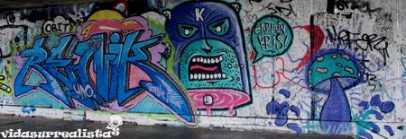 Grafitis de Londres vidasurrealista 1