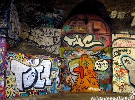Grafitis de Londres vidasurrealista 4