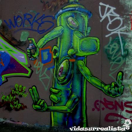 Banksy Tunnel, el rincón de la libertad grafitera