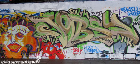 Grafitis de Londres vidasurrealista