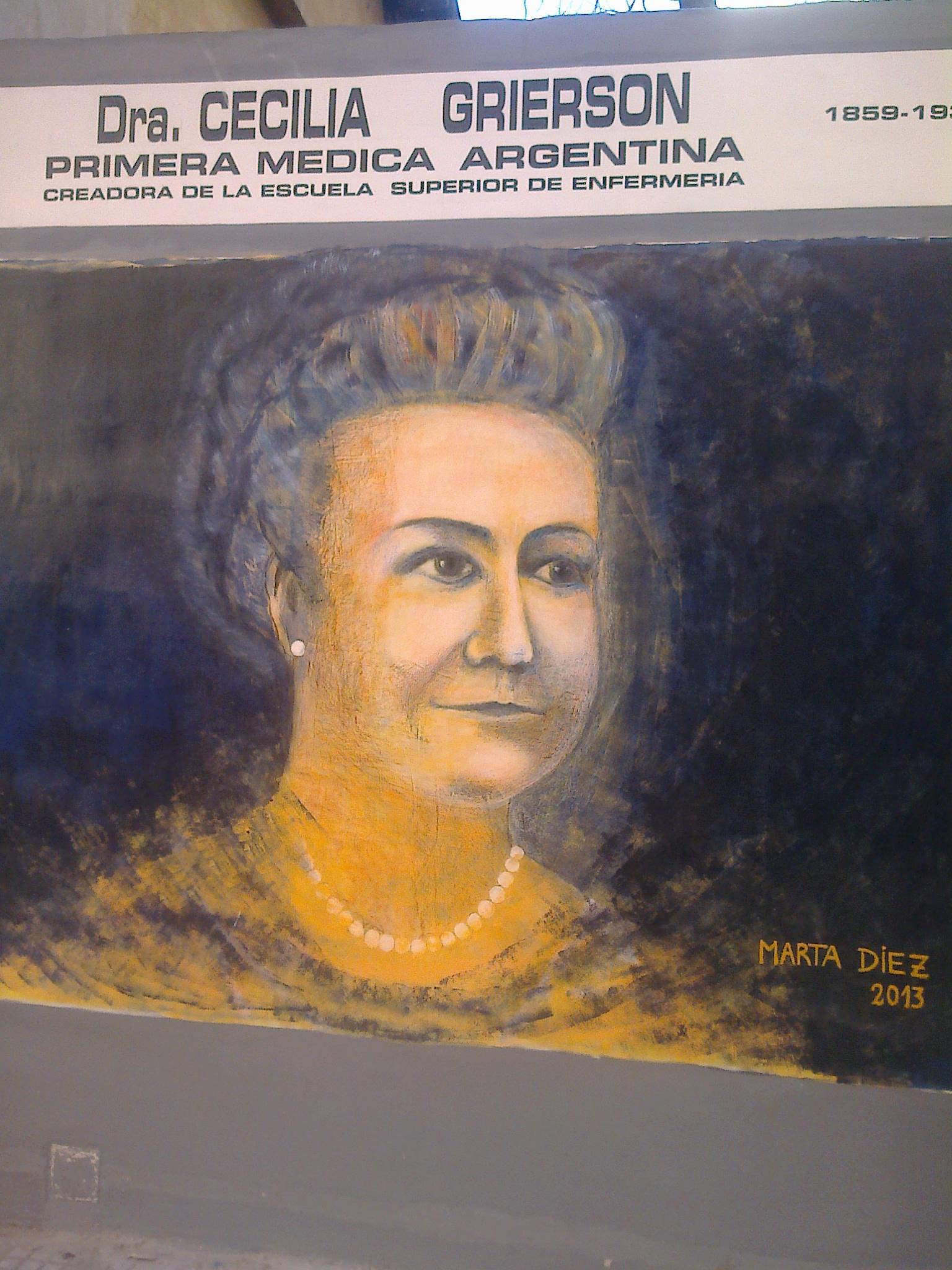 Dra Ceciclia Grierson, primera médica argentina