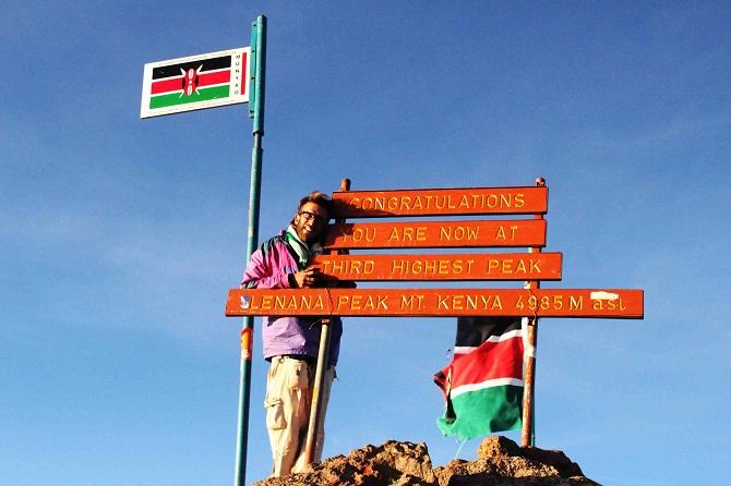 Miramos el mundo desde la cumbre de África