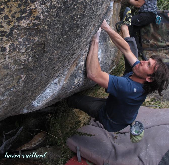 La roca se puso de fiesta en el Festiboulder de El Chaltén