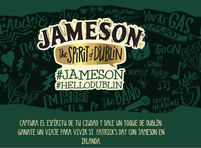 Concurso: Jameson te lleva a Dublín a vivir el St. Patrick´s Day