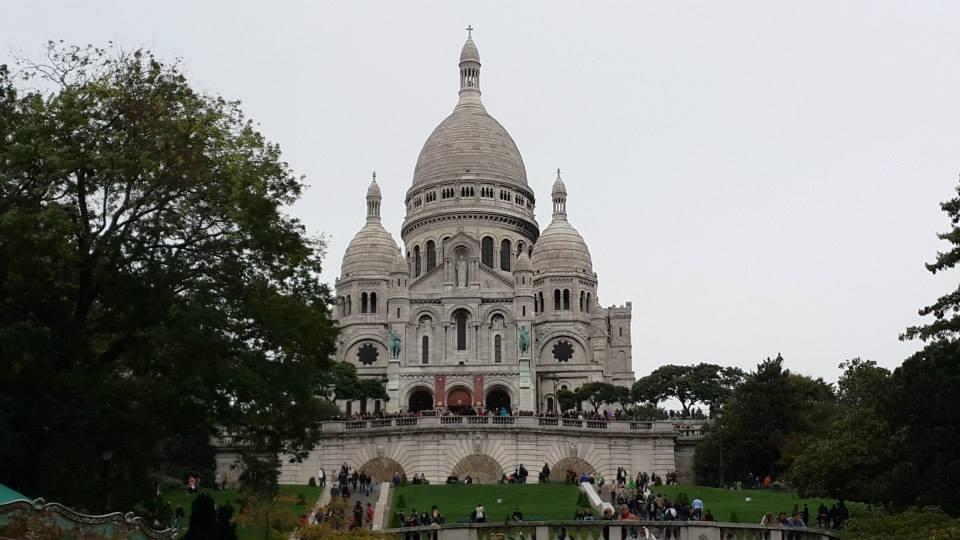 Sagrado Corazón de Montmartre, maravilla sobre la colina