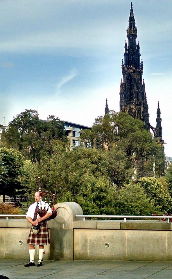 Edimburgo al compás de la gaita