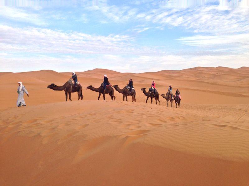 Una Noche en el Sahara