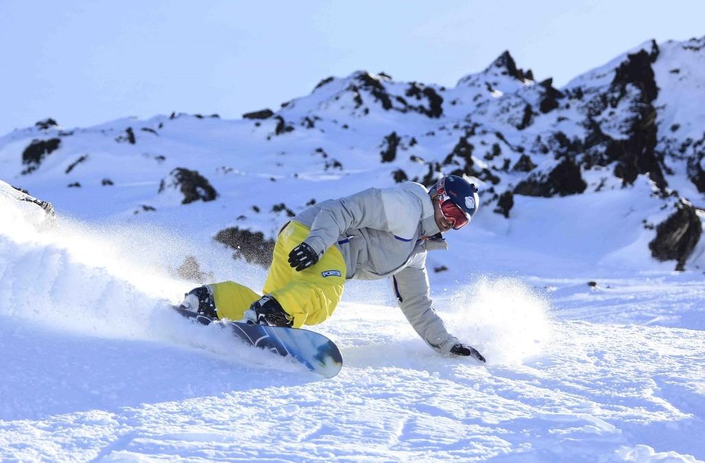 Cerro Castor, donde el frío no frena las actividades en la nieve