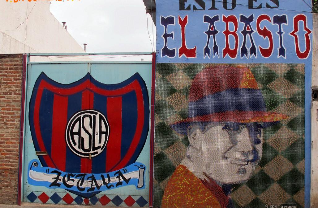Pasaje Zelaya, una galería al aire libre con arte de Marino Santa María