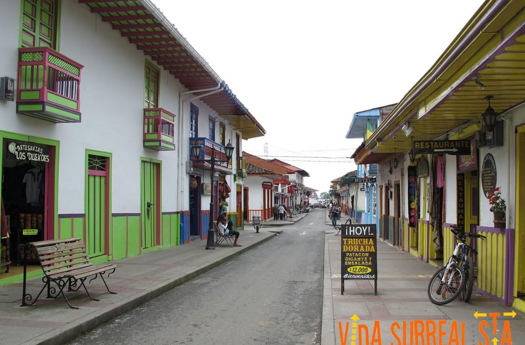 Salento, el rincón colombiano donde la magia se hizo color