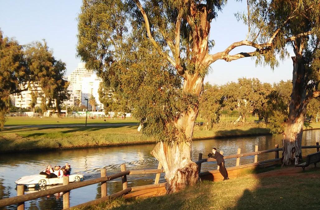 Parque HaYarkon, el pulmón verde de Tel Aviv