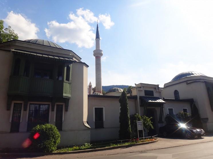 Una de las numerosas mezquitas que hay en la ciudad