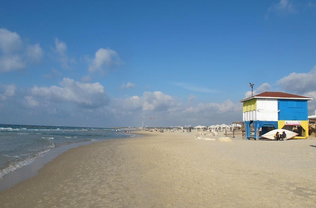 Beit Yanai, una de las playas más lindas de Israel