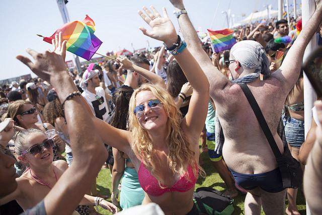 Tel Aviv celebró la Fiesta del Orgullo Gay 2016 junto a 200.000 personas