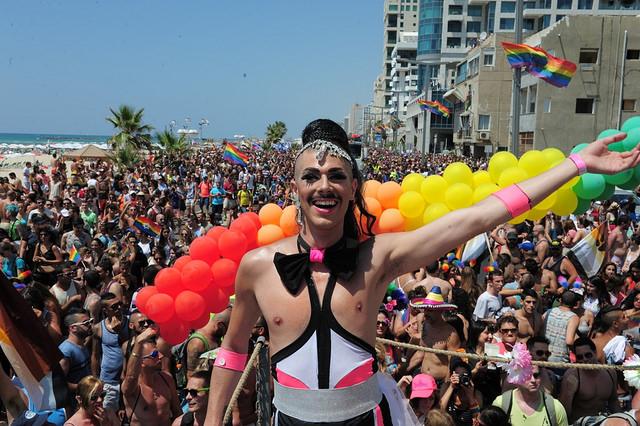 Lugares de cruising gay en Tel aviv