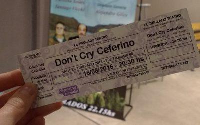 Don't cry Ceferino, una comedia para los santos
