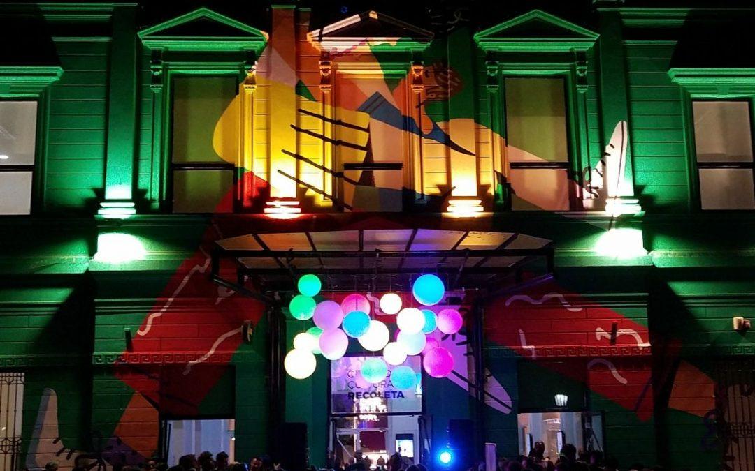 #AmordeVerano con baile en el Centro Cultural Recoleta