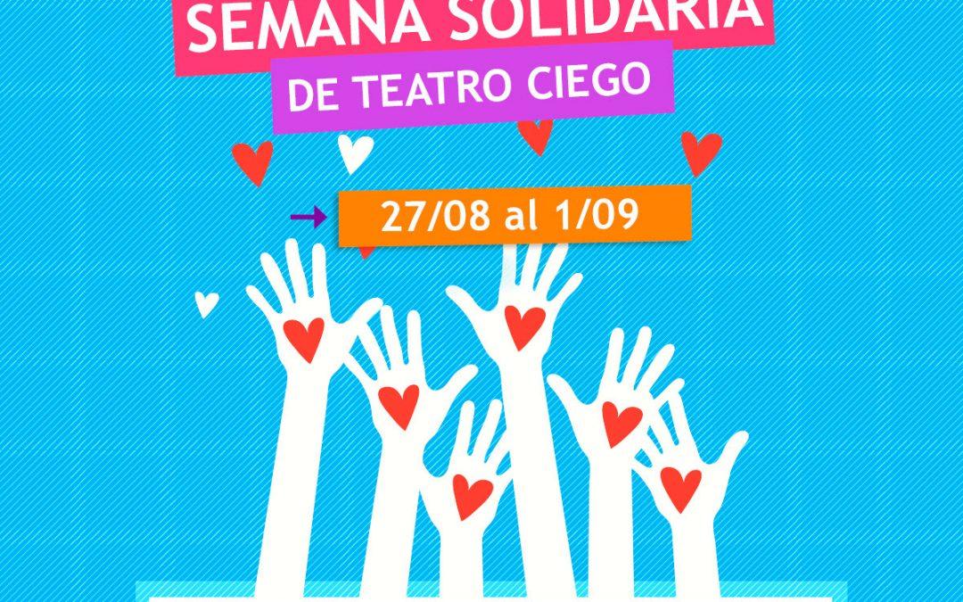 Semana Solidaria de Fundación SI!: 50% de descuento en Teatro Ciego x 1 alimento