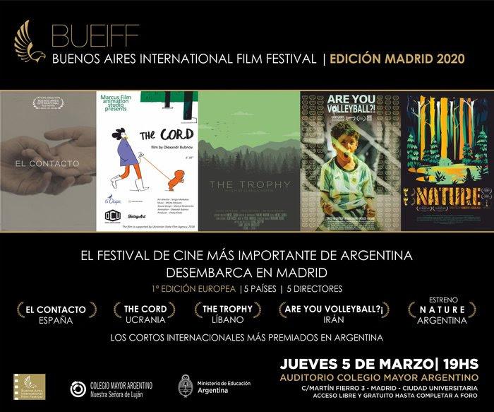 El festival de cortos internacional BUEIFF llega a Madrid