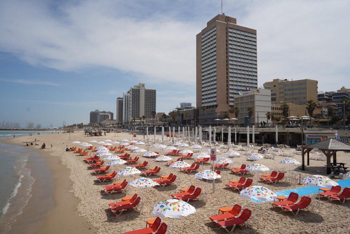 Playa Tel Aviv. Fuente: Ilan Spira